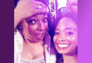 Siedah Garrett and Natalie Cadet at the Pensado Awards