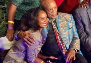 Natalie Cadet meets Quincy Jones 2