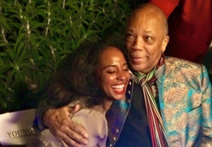 Natalie Cadet meets Quincy Jones